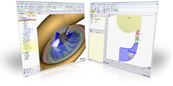 Cfturbo, Turbomashinery Design Software